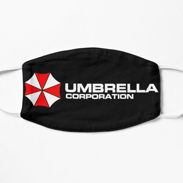 Umbrella Corp. (Blanco) Mascarilla plana