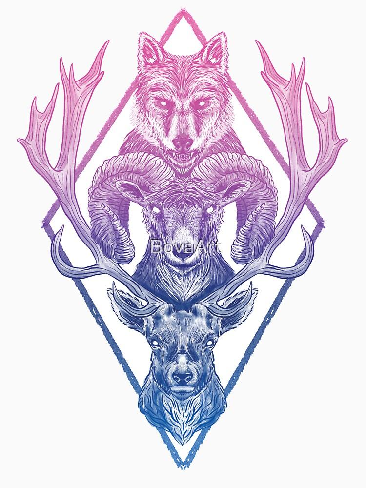 Wolfram Hart (Color) by BovaArt