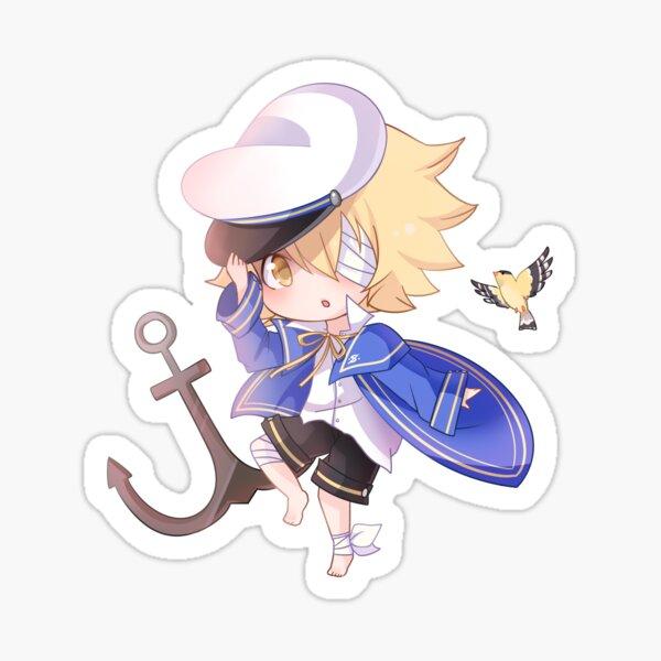 Vocaloid Oliver Chibi Sticker