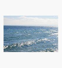 Daytime View of Lake Photographic Print
