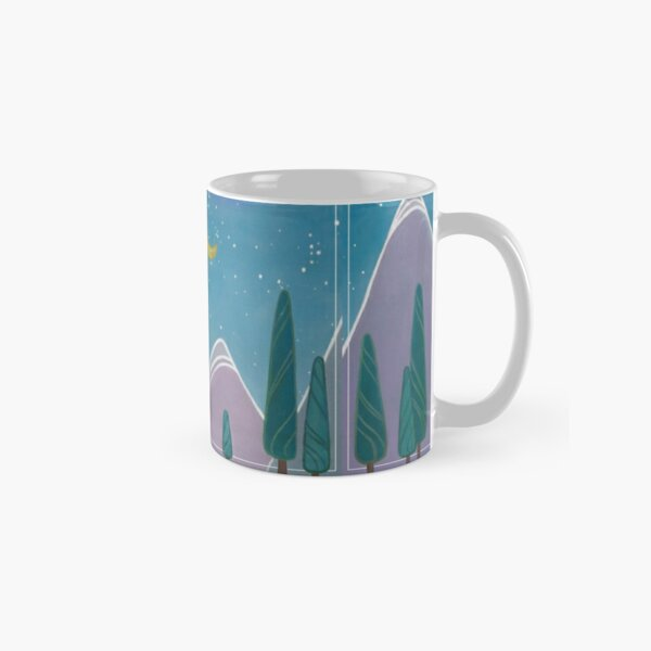 Cabin in the Mountains Classic Mug