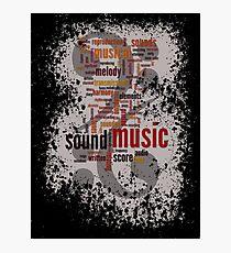 Sound Music Photographic Print