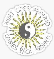 Yin Yang Sun Tumblr Sticker