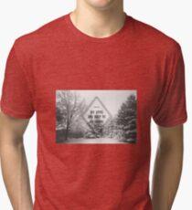 Cherry Wine Tri-blend T-Shirt