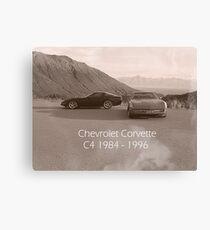 C4 Corvette Canvas Print