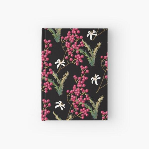 pink pepper Hardcover Journal