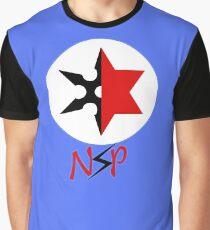 Camiseta gráfica Fiesta de sexo ninja