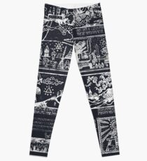 Hero of Time Chalkboard Leggings