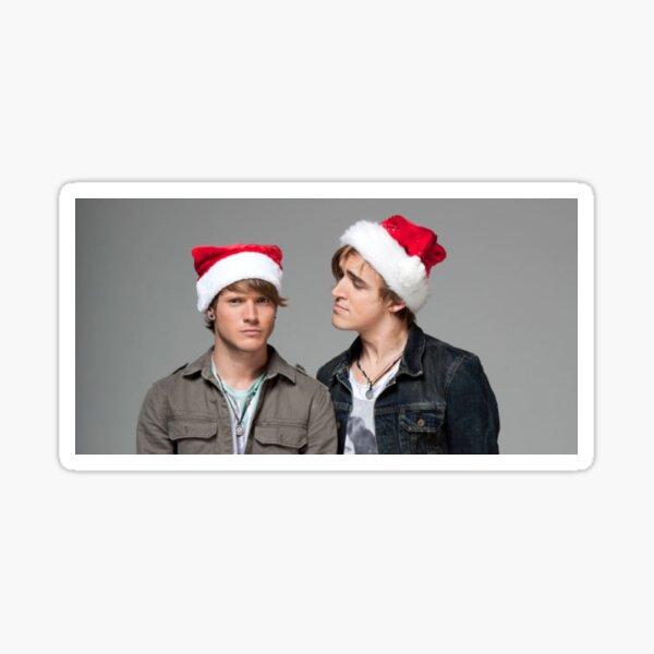 McFly Tom Fletcher Dougie Poynter Christmas Floynter Sticker