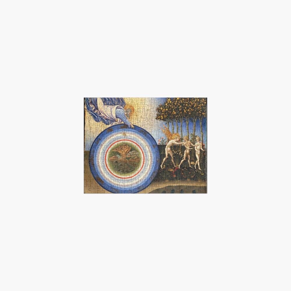 The Creation of the World and the Expulsion from Paradise,1445 Giovanni di Paolo di Grazia, Italian Jigsaw Puzzle