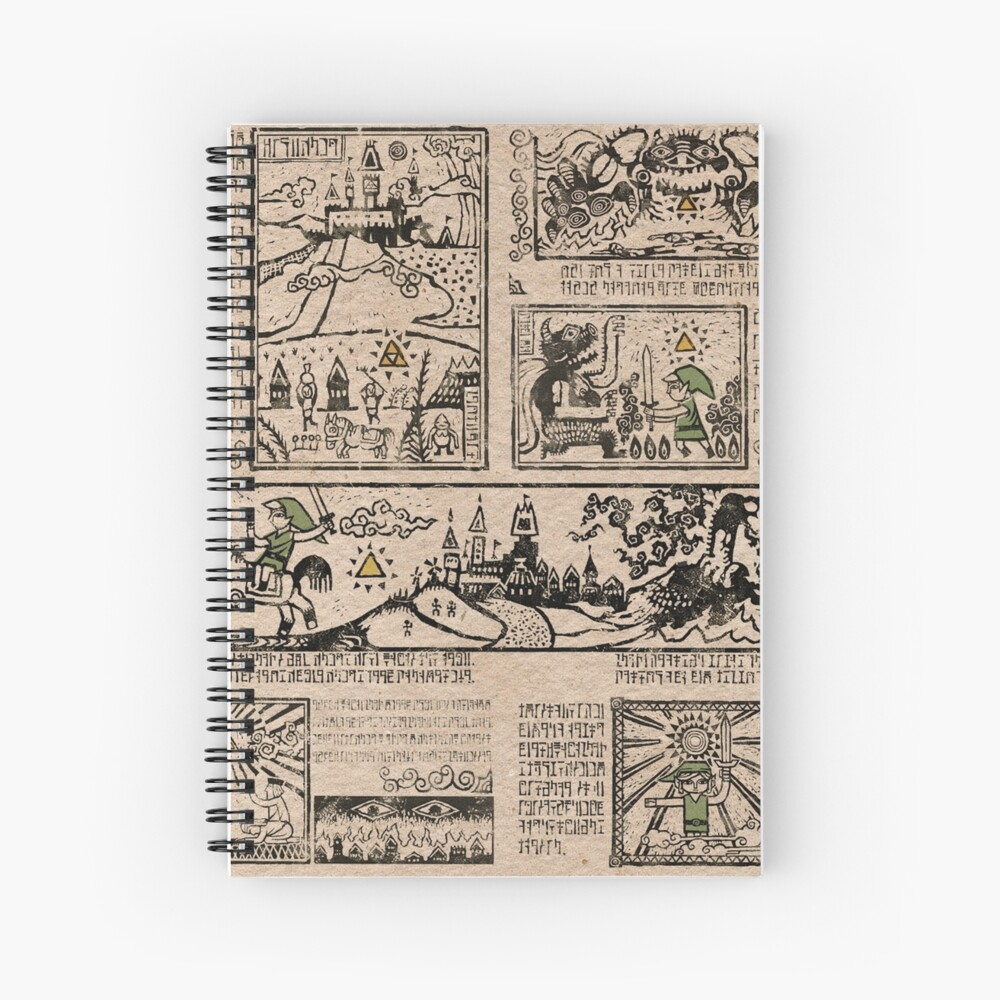 Tapices del héroe del tiempo Cuaderno de espiral