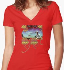 Yes - Yessongs Women's Fitted V-Neck T-Shirt