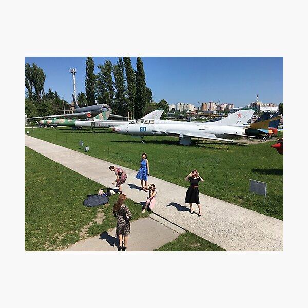 Soviet aircraft  Photographic Print