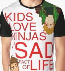 Saddest true Graphic T-Shirt