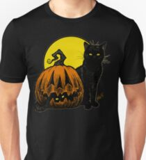 Still Life with Feline & Gourd Unisex T-Shirt
