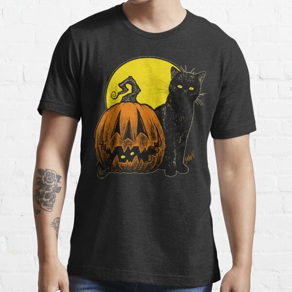 Still Life with Feline and Gourd Essential T-Shirt