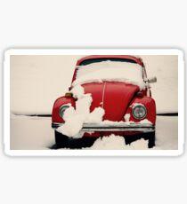 Winter Reds Sticker