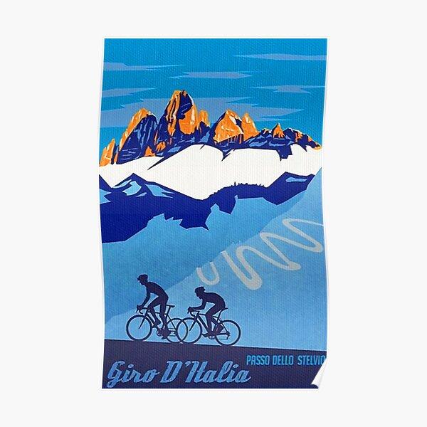 Vintage French Cycling Advert Retro Decor Art Poster Print Artwork Framed