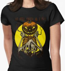 Autumn People 7: Pumpkin Women's Fitted T-Shirt