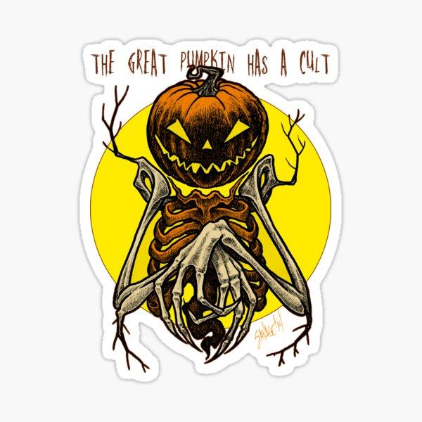 Autumn People 7: Pumpkin Sticker