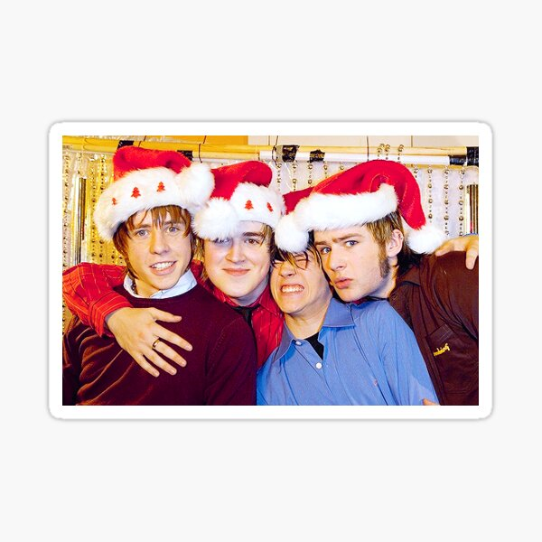 McFly Christmas Tom Fletcher Dougie Poynter Danny Jones Harry Judd Sticker