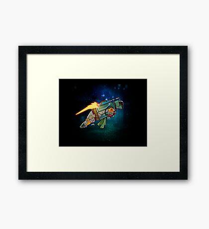 Bo Buffet Framed Print