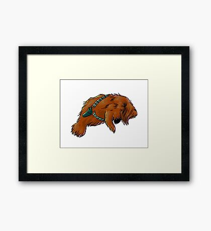 Chewy Manatee 2 Framed Print
