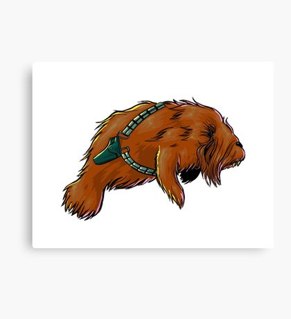 Chewy Manatee 2 Canvas Print