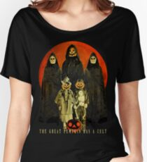 Cult of the Great Pumpkin: Trick or Treat Women's Relaxed Fit T-Shirt
