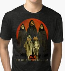 Cult of the Great Pumpkin: Trick or Treat Tri-blend T-Shirt
