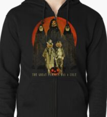 Cult of the Great Pumpkin: Trick or Treat Zipped Hoodie