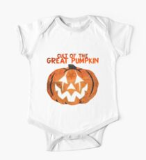 Cult of the Great Pumpkin: Mask One Piece - Short Sleeve