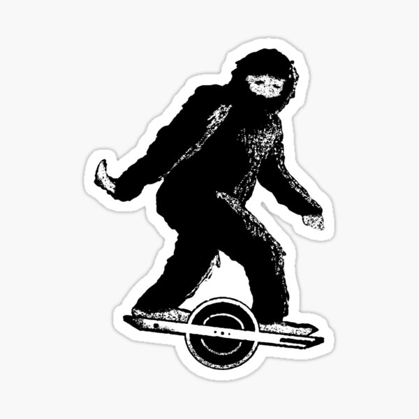 Sasquatch'ed Sticker