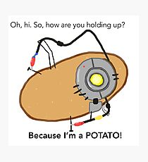 GladOs Potato Photographic Print