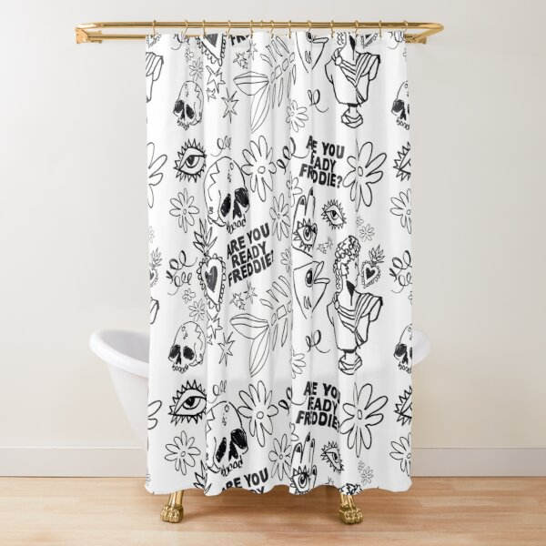 Antiques Shower Curtain