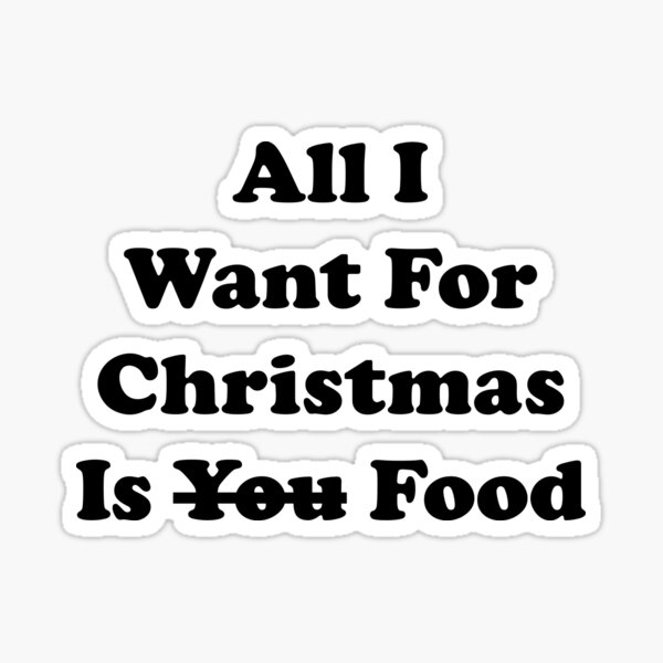 All I Want For Christmas Is You Wall Sticker WS-50064