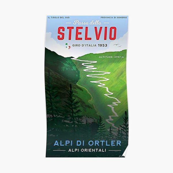 Stelvio Giro D'Italia! Poster
