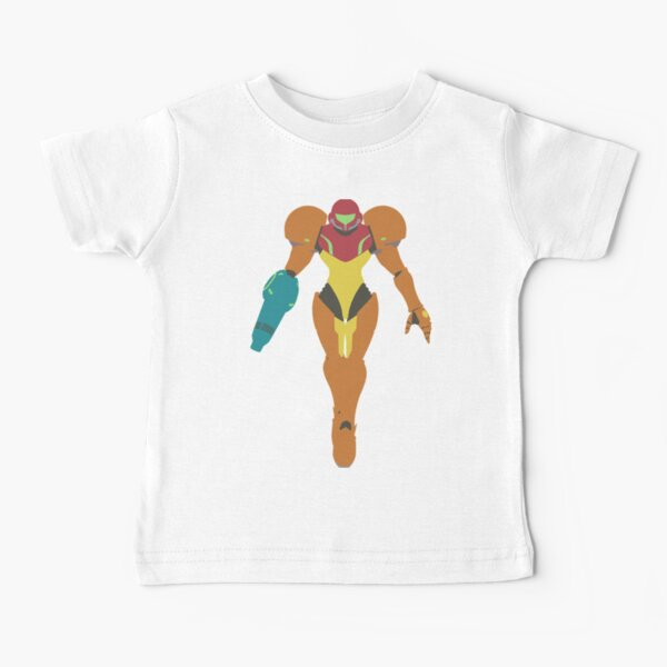 Smash Bros - Samus Baby T-Shirt