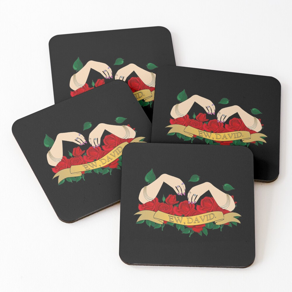 Ew David Coasters (Set of 4)
