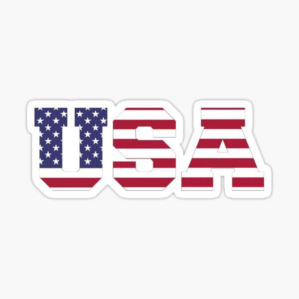 Textura de punto de EE. UU. Pegatina