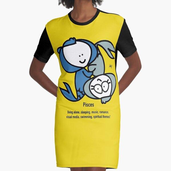 KK - Pisces T-Shirt Kleid