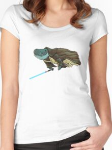 O.B. 1 Kenobi Women's Fitted Scoop T-Shirt