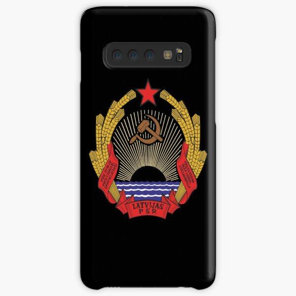 Latvian SSR coat of arms / Герб Латвийской ССР Samsung Galaxy Snap Case