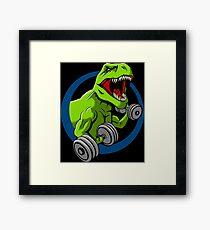 Big Guns Dinosaur Framed Print