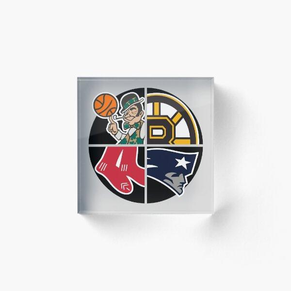 Boston Sports Teams Acrylic Block