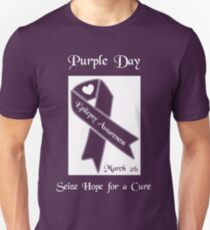 Purple Day -- Epilepsy Awareness (March 26) Unisex T-Shirt