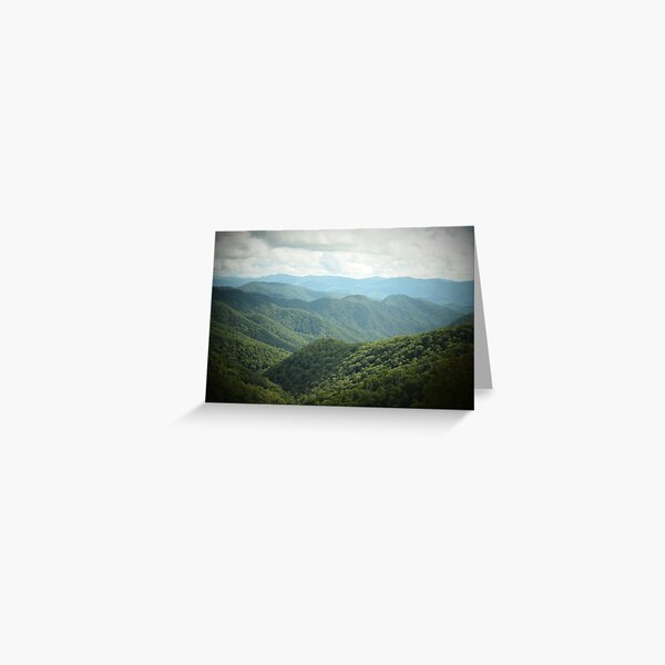 The Mountains are Calling Greeting Card