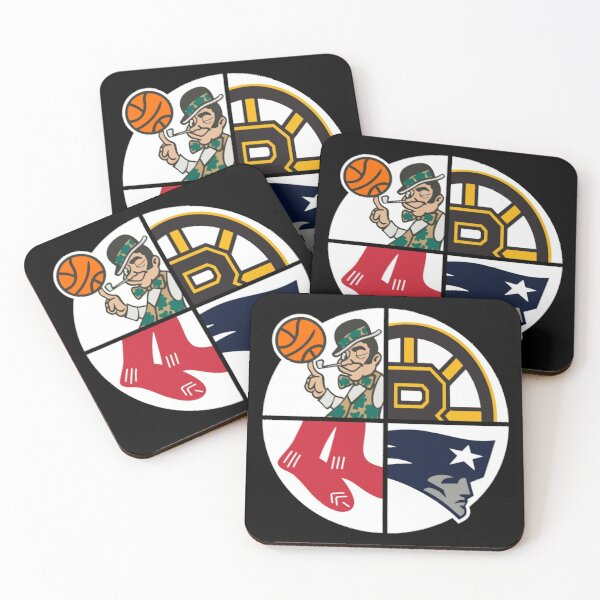 Boston Sports Coasters (Set of 4)