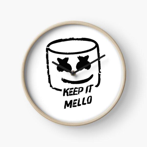 Keep It Mellow New Black Horloge