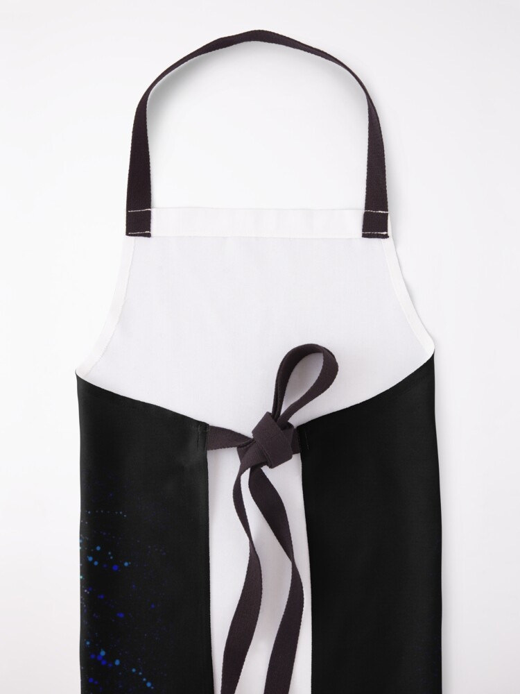 Alternate view of Run to the rescue with love and peace will follow.  Apron